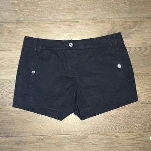 Navy Tory Burch day shorts size 6